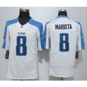 2015 Draft Nike Titans 8 Marcus Mariota White Men Stitched NFL Limited Jersey
