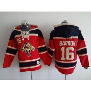 NHL Panthers 16 Aleksander Barkov Red Men Sweatshirt