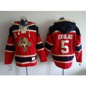 NHL Panthers 5 Aaron Ekblad Red Men Sweatshirt