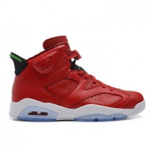 Air jordan 6 Retro Varsity Red Classic Green-Black-White