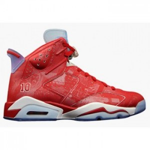 Air jordan 6 Retro Varsity Red Varsity Red-White (Men Women GS Youth Girls)