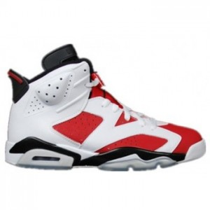 Air jordan 6 Retro White Carmine-Black ( Men Women GS Youth Girls) For Sale