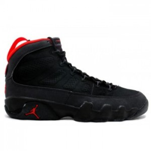 Air jordan 9 (IX) Retro Black Dark Charcoal True Red A09001