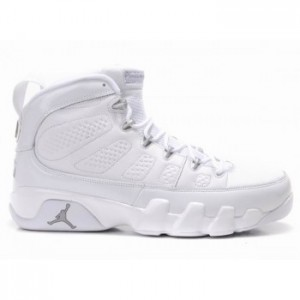 Air jordan 9 (IX) Retro White Metallic Silver A09007