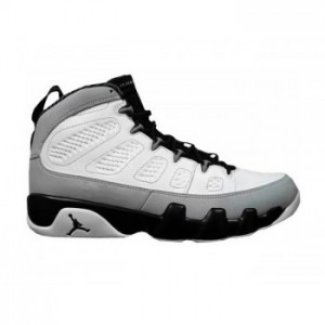 Air jordan 9 Retro White Black-Neutral Grey Online