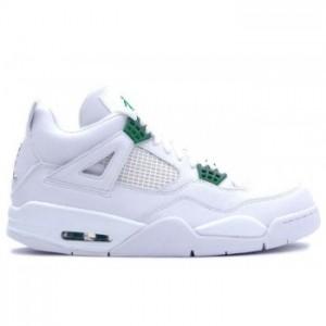 Air jordan IV 4 White Chrome Classic Green A04004