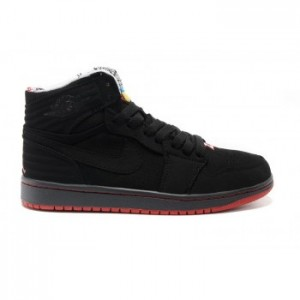Air jordan Retro 1 '93 Black True Red-Anthracite