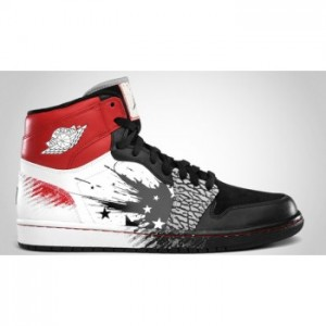 Air jordan Retro 1 High Dw Dave White Black Red Cement Grey