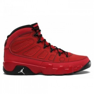 Air jordan Retro 9 Motorboat Jones Challenge Red White-Black A09010