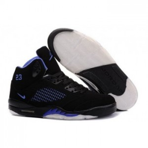 Air jordan V 5 Retro Black blue A05014