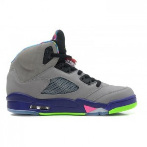 Air jordan V Cool Grey Court Purple-Game Royal-Club Pink (Women Men Gs Girls)