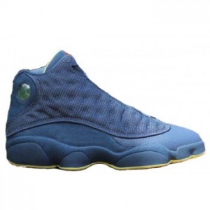 Air Retro Jordan Squadron Blue 13s Electric Yellow-Black A13017