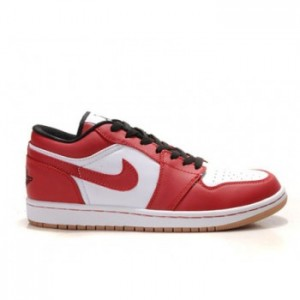 Air jordan 1 Retro WhiteVrsty Red-Blk-Gm Md Brwn