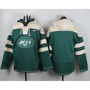 Nike Jets Blank Green Player Pullover NFL Sweatshirt Hoodie