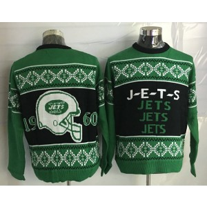 New York Jets Men Ugly Sweater