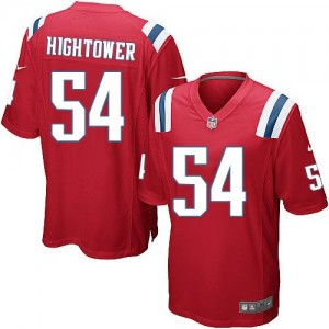 Nike Patriots 54 Dont'a Hightower Red Alternate Youth Stitched NFL Elite Jersey