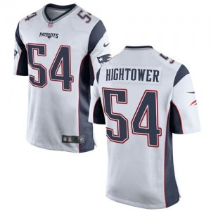 Nike Patriots 54 Dont'a Hightower White Youth Stitched NFL New Elite Jersey