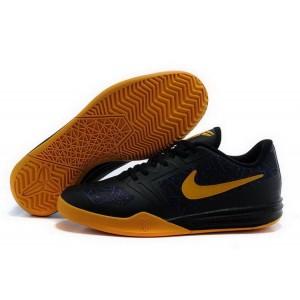Nike Kobe 10 Mentality Black Gold Basketball Mens Shoes