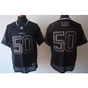 Nike Dallas Cowboys No.50 Sean Lee Lights Out Black Elite NFL Jersey