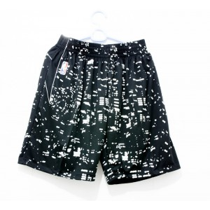 NBA Black City Luminous Swingman Shorts