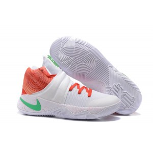 Nike Kyrie 2 Krispy Kreme Ky Rispy Basketball Shoes White Orange Green