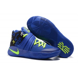 Nike Kyrie 2 Basketball Shoes 2016 Blue Light Green