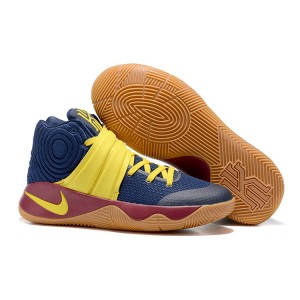 Nike Kyrie 2 Basketball Shoes 2016 Dark Blue Yellow