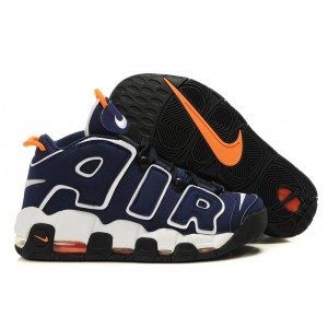Nike Air More Uptempo Chaussures Shoes Navy White