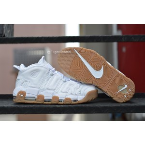 Nike Air More Uptempo Chaussures Shoes White