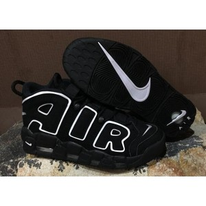 Nike Air More Uptempo Chaussures Shoes Black