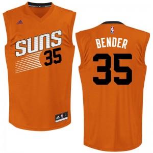 NBA Suns 35 Dragan Bender Orange Men Jersey