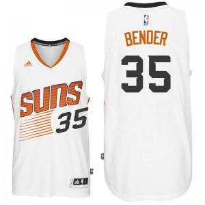 NBA Suns 35 Dragan Bender White Men Jersey