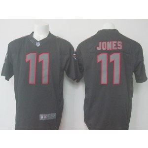 Nike Atlanta Falcons 11 Julio Jones Black Impact Football Jersey