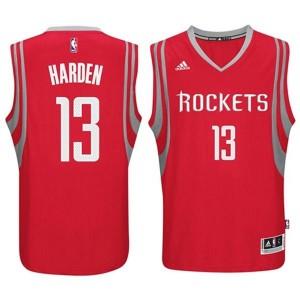 NBA Rockets 13 James Harden Red Road Revolution 30 Men Jersey