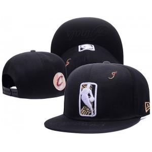 Cavaliers 2017 NBA Finals Black Adjustable Hat1