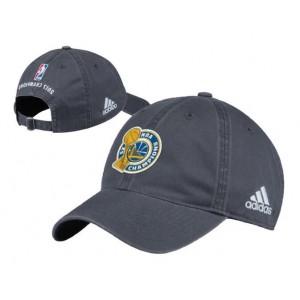Golden State Warriors 2017 NBA Champions Gray Adjustable Hat