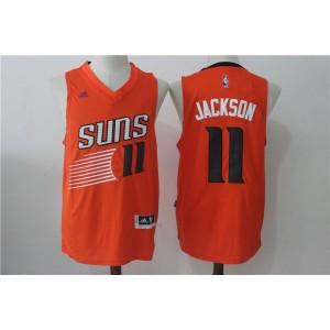 Adidas Phoenix Suns 11 Josh Jackson Orange 2017 NBA Draft Men Jersey