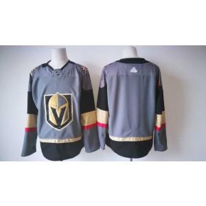 NHL Vegas Golden Knights Blank Grey Adidas Men Jersey