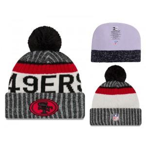 NFL 49ers Fresh Logo 2017 Sideline Knit Hat