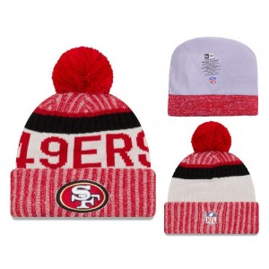 NFL 49ers Team Logo 2017 Sideline Knit Hat