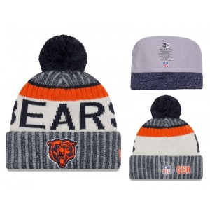 NFL Bears Team Logo 2017 Sideline Knit Hat