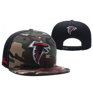 NFL Falcons Team Logo Camo Snapback Adjustable Hat LT