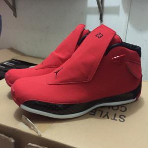 Air Jordan 18 Toro Gym Red Shoes