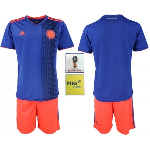 Colombia Away 2018 FIFA World Cup Soccer Men Jersey