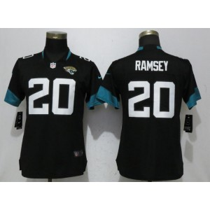 Nike Jaguars 20 Jalen Ramsey Black 2018 Vapor Untouchable Limited Player Women Jersey