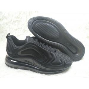 Nike Air Max 720 Casual Sports Black Shoes