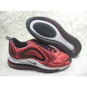 Nike Air Max 720 Casual Sports Red Black Shoes