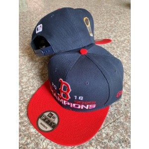 MLB Red Sox Gray 2018 World Series Champions 2 Tone Adjsutable Hat YD