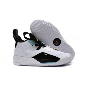 Air Jordan 33 Mike Conley PE White Black Blue Shoes