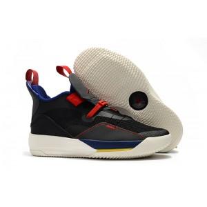 Air Jordan 33 Tech Pack Black White Shoes